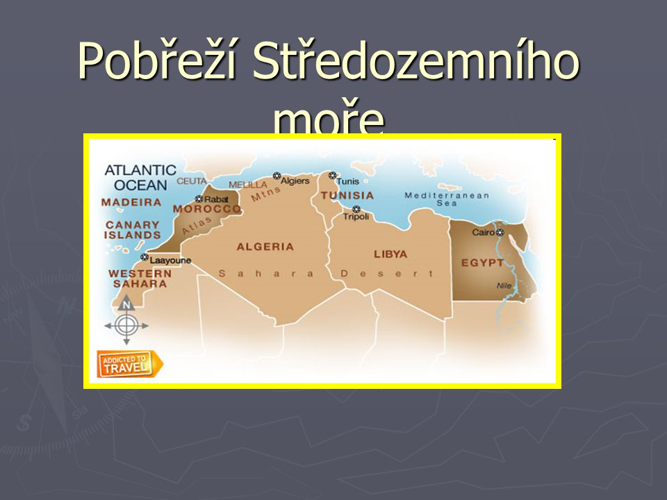 Pobřeží Středozemního moře