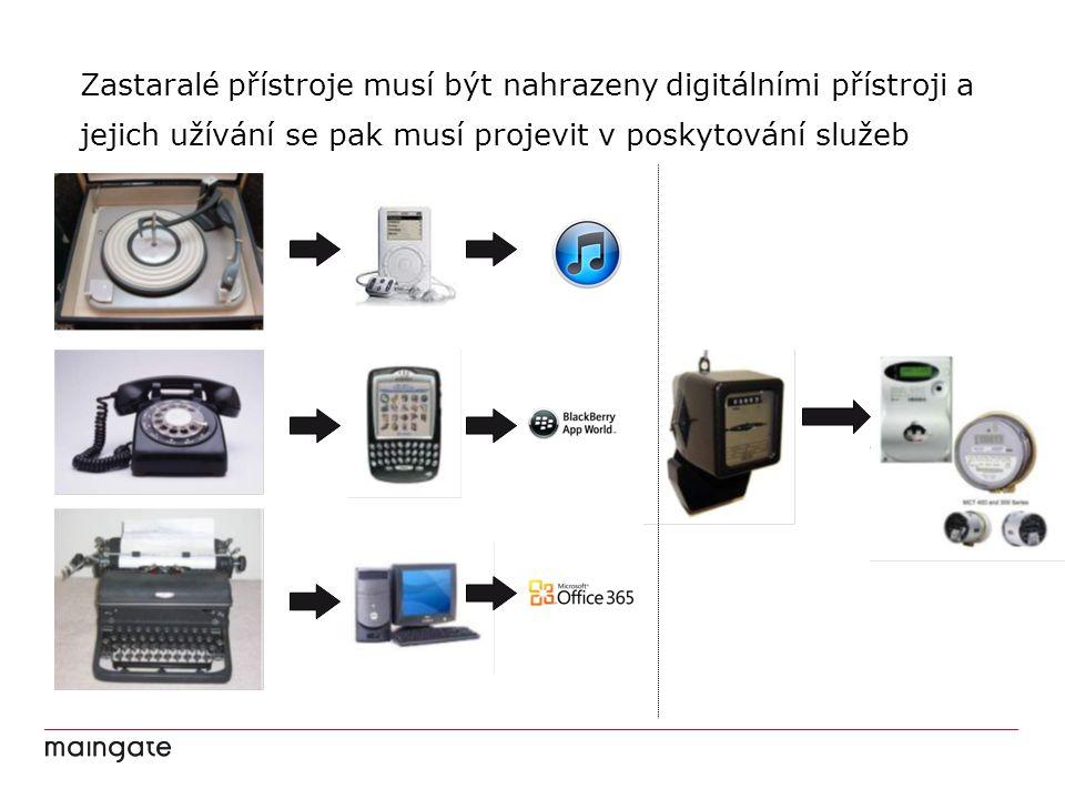 Zastaralé přístroje musí být nahrazeny digitálními přístroji a jejich užívání se pak musí projevit v poskytování služeb