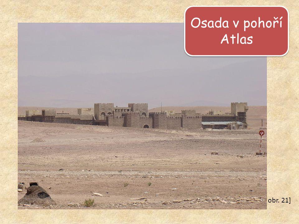 Osada v pohoří Atlas obr. 21]