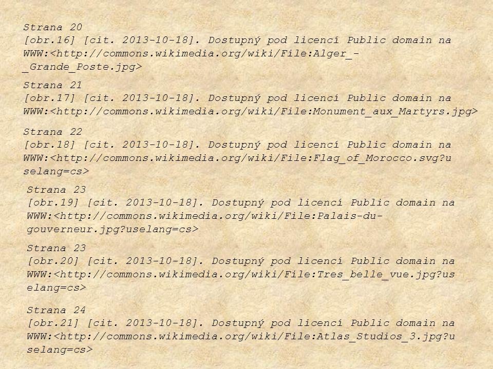 Strana 20 [obr.16] [cit. 2013-10-18]. Dostupný pod licencí Public domain na WWW: Strana 21 [obr.17] [cit. 2013-10-18]. Dostupný pod licencí Public dom