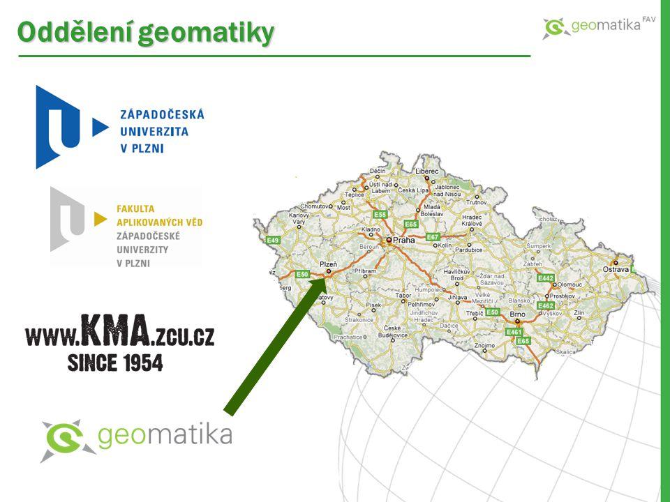 Oddělení geomatiky
