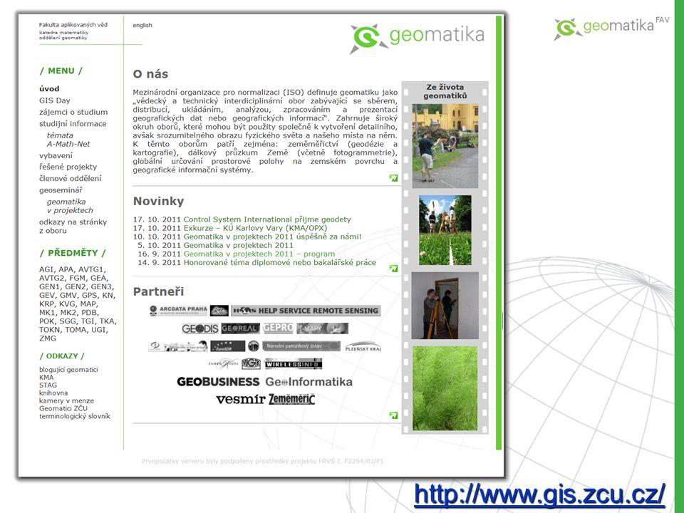 http://www.gis.zcu.cz/ http://www.gis.zcu.cz/