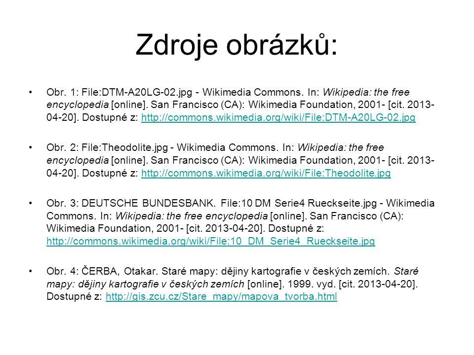 Zdroje obrázků: Obr.5: HERR, Kriss. Soubor:Odczyt z laty.svg - Wikipedie.