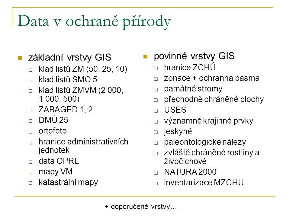 CLIDATA meteorologická data Český hydrometeorologický ústav kompletní seznam dostupných dat na www.clidata.cz www.clidata.cz data zpoplatněna studenti