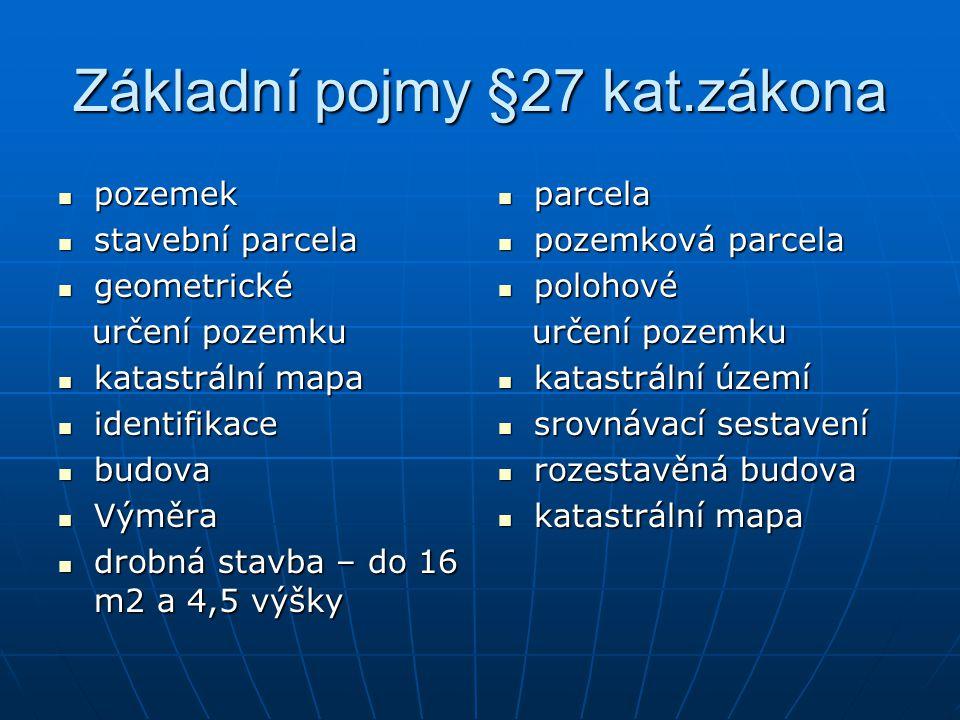 Identifikace §27 zák.č.344/1992 Sb.