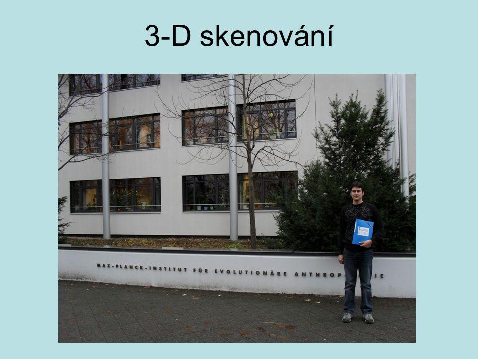 3-D skenování