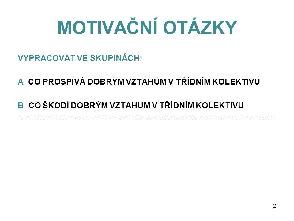 Inovace bez legrace CZ.1.07/1.1.12/01.0070 Tento projekt je spolufinancován Evropským sociálním fondem a státním rozpočtem České republiky. ZÁKLADNÍ V
