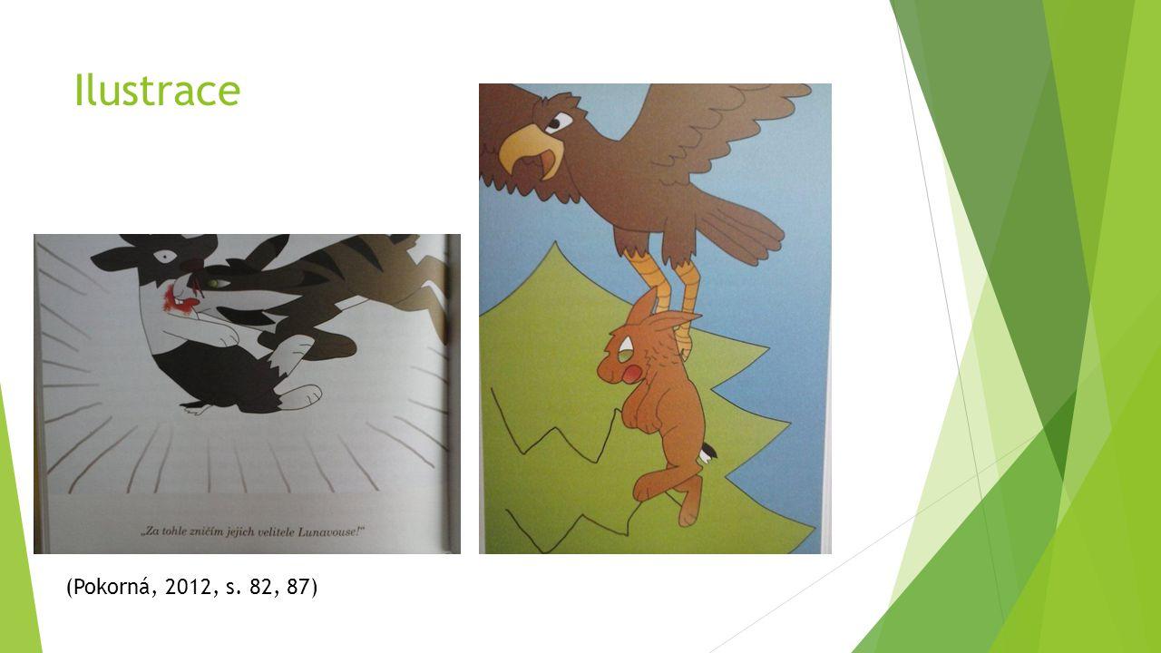 Ilustrace (Pokorná, 2012, s. 82, 87)