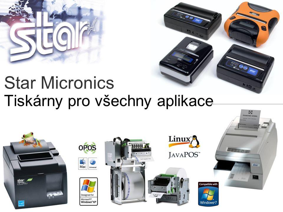 Star Micronics Tiskárny pro všechny aplikace