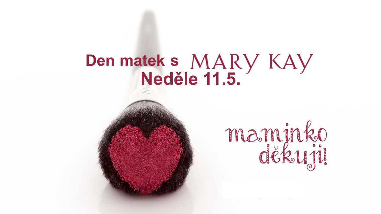 Den matek s Neděle 11.5.