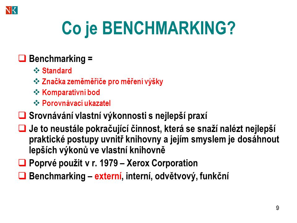 30 Cíle projektu 1.Vytvořit a testovat benchmarkingový systém pro hodnocení činnosti veřejných knihoven.