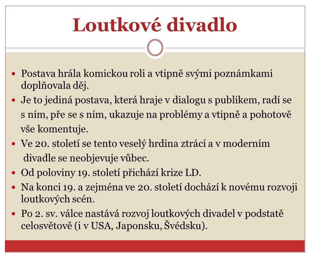 Zdroje a citace Wikipedie: Otevřená encyklopedie: Loutka [online].