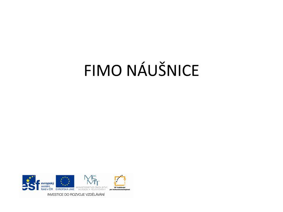 FIMO NÁUŠNICE