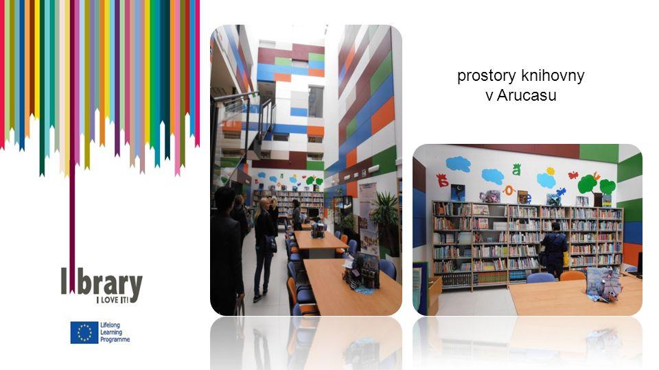 prostory knihovny v Arucasu