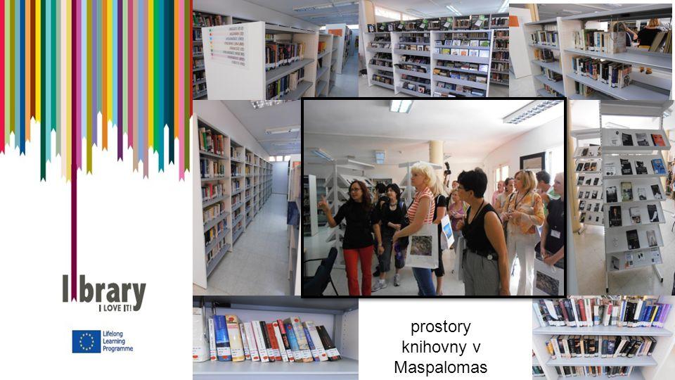 prostory knihovny v Maspalomas