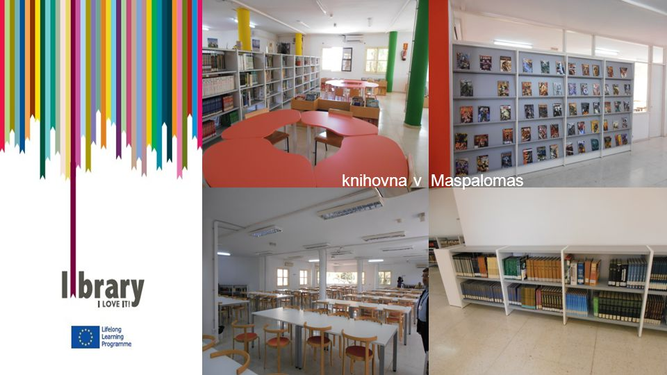knihovna v Maspalomas