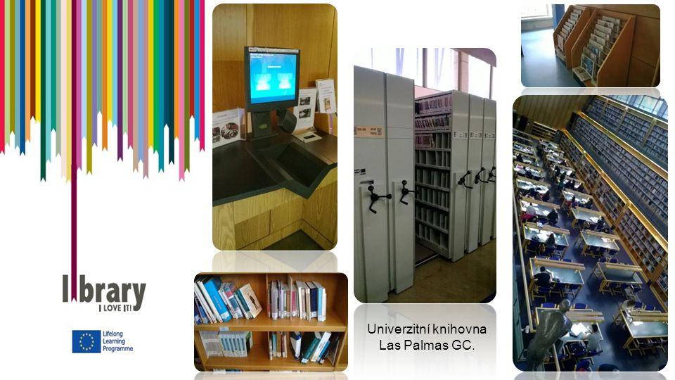 Univerzitní knihovna Las Palmas GC.