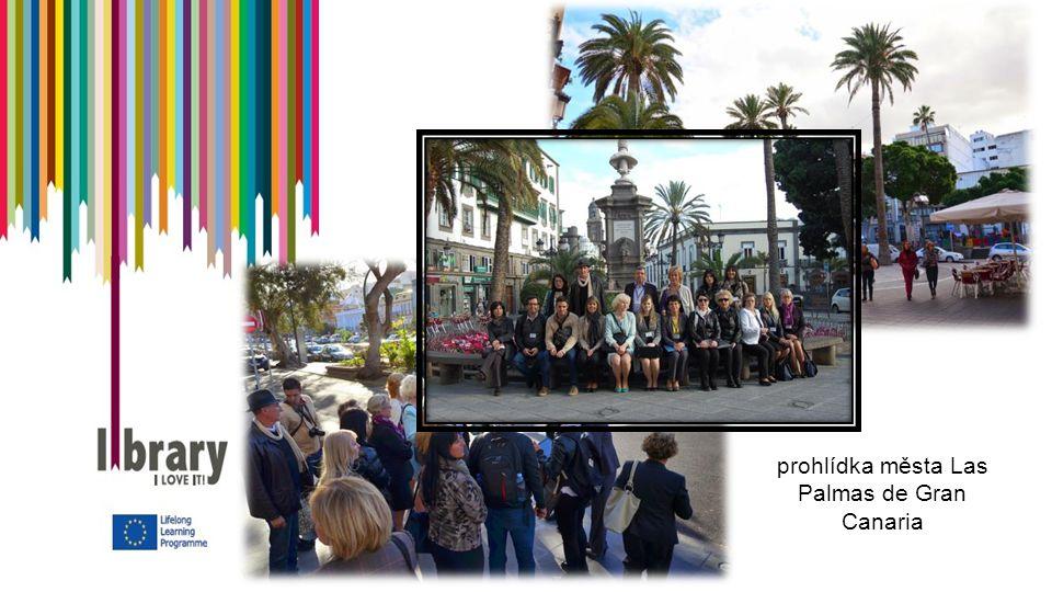 prohlídka města Las Palmas de Gran Canaria