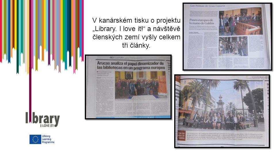"""V kanárském tisku o projektu """"Library."""