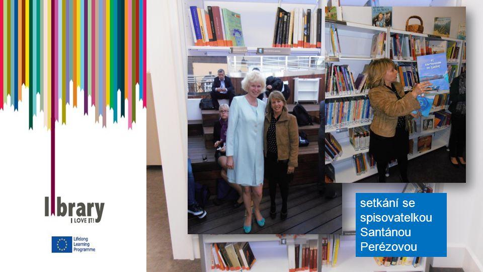 setkání se spisovatelkou Santánou Perézovou