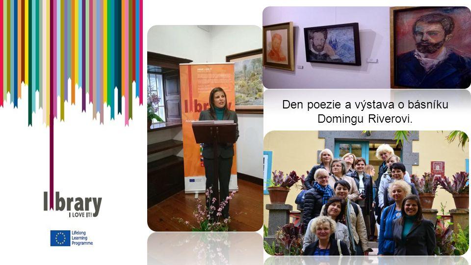 Den poezie a výstava o básníku Domingu Riverovi.