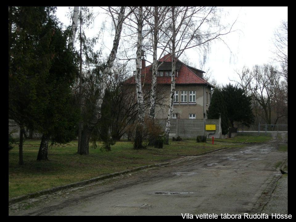 Vila velitele tábora Rudolfa Hösse