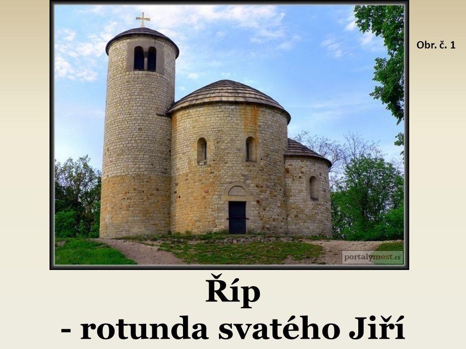 Říp - rotunda svatého Jiří Obr. č. 1