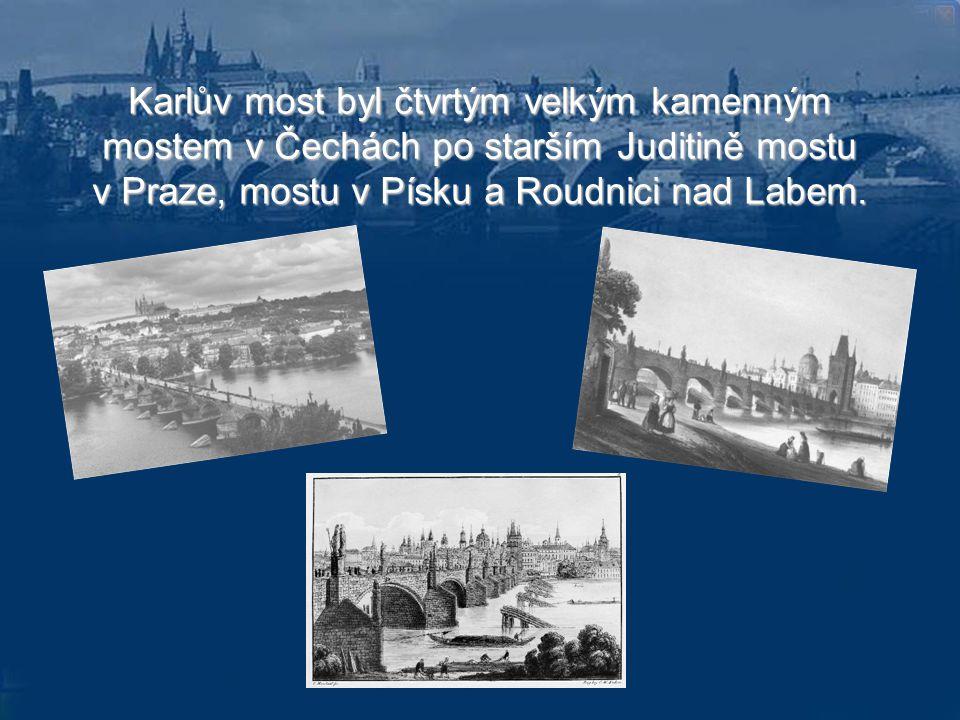 Okamžik založení mostu nebyl zvolen náhodně.