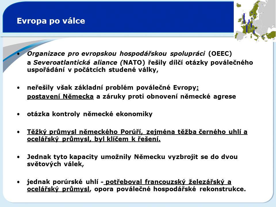 Smlouva o jednotných orgánech Smlouva o vytvořen jednotné Rady Evropských společenství a jednotné Komise Evropských společenství Smlouva o založení Evropského společenství / Smlouva o jednotných orgánech Smlouvou o jednotných orgánech z roku 1965 byly sloučeny výkonné orgány tří Společenství (ESUO, EHS, EURATOM) vytvářející jednotnou Radu a jednotnou Komisi Sloučením orgánů ESUO, EHS a Euratom vznikla Evropská společenství.