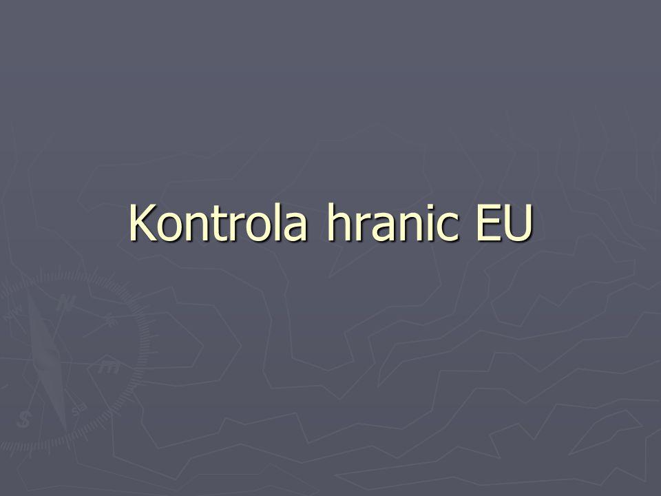 Kontrola hranic EU