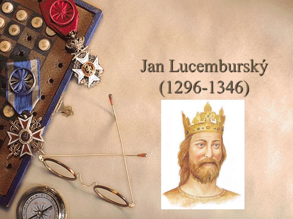 Jan Lucemburský (1296-1346)