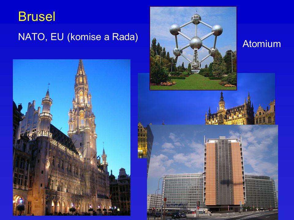 Brusel NATO, EU (komise a Rada) Atomium