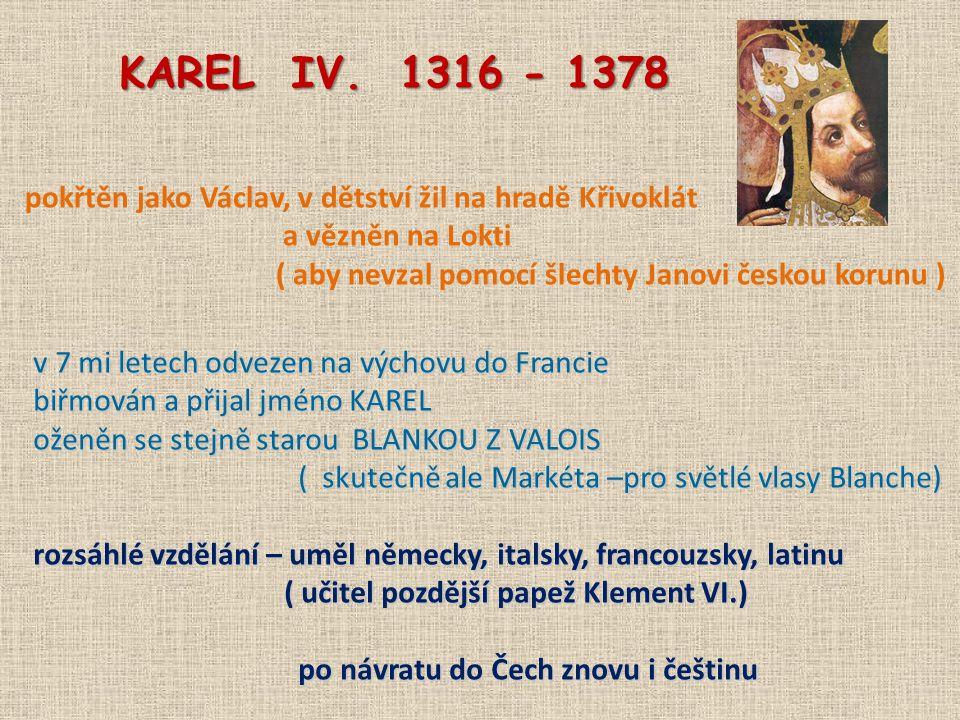markrabě moravský r.1333 po návratu do Čech markrabě moravský r.
