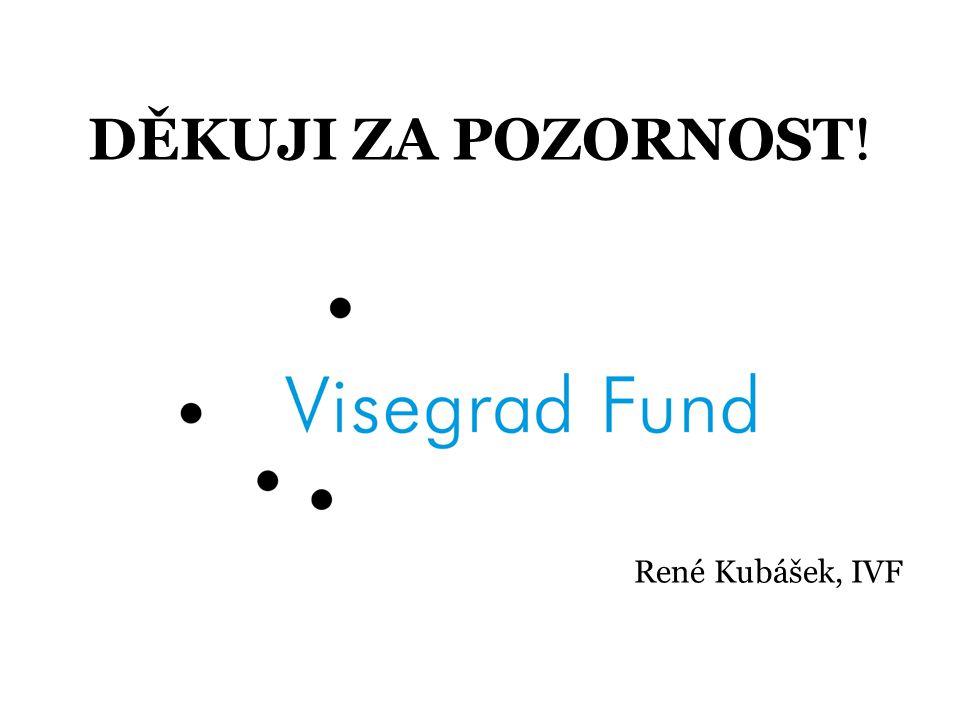 DĚKUJI ZA POZORNOST! René Kubášek, IVF
