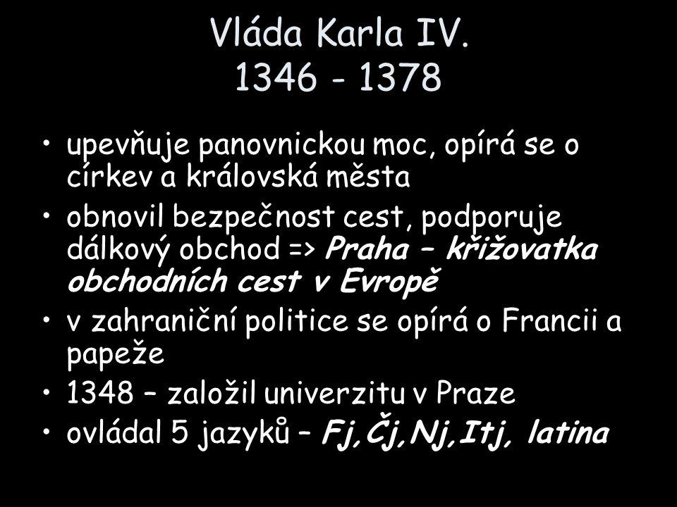 Vláda Karla IV.