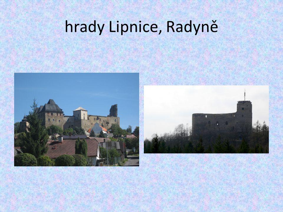 hrady Lipnice, Radyně