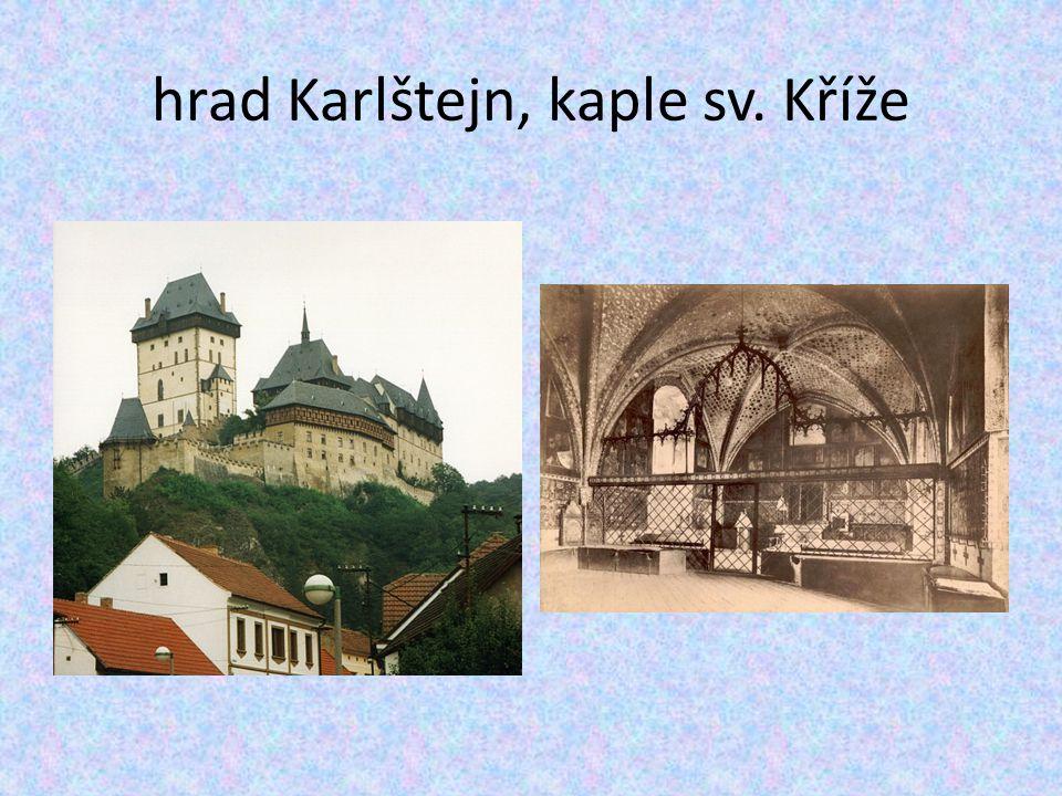 hrad Karlštejn, kaple sv. Kříže