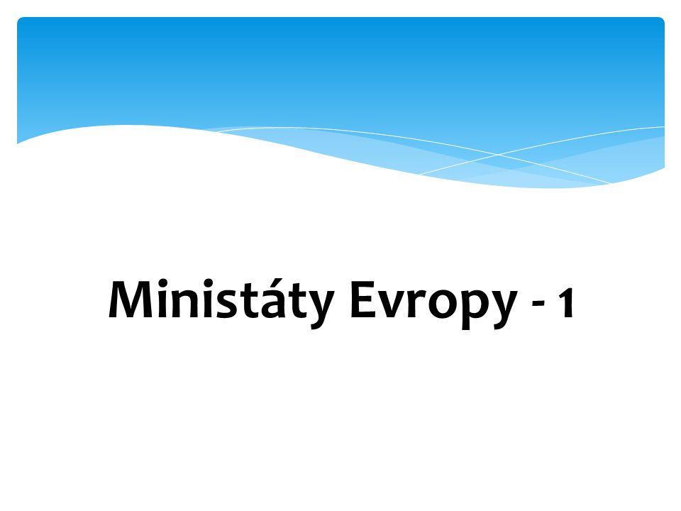 Ministáty Evropy - 1