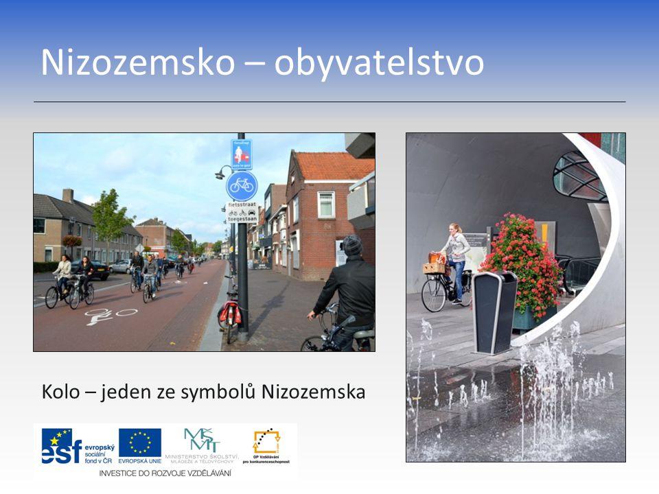 Nizozemsko – obyvatelstvo Kolo – jeden ze symbolů Nizozemska