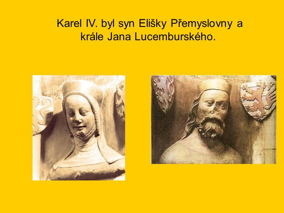 Karel IV.dosáhl jako první český panovník hodnosti římského císaře.