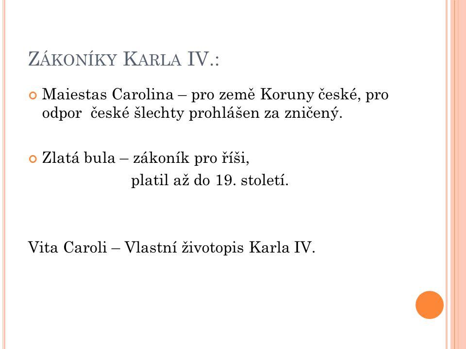 K AREL IV.