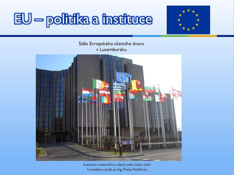 Sídlo Evropského účetního dvora v Lucembursku