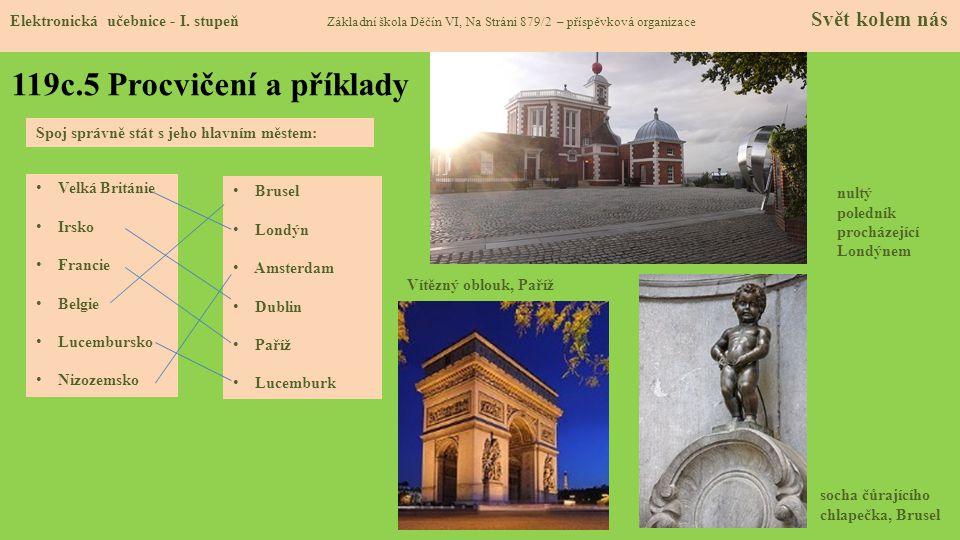 119c.5 Procvičení a příklady Elektronická učebnice - I.