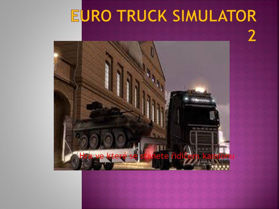 Hra ve které se stanete řidičem kamionu