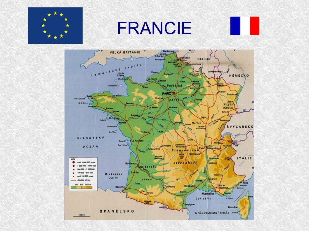 Test ● Nejdelší řeka: a) Loira b) Seina c) Rhôna ● Počet obyvatel: a) 48 000 000 b) 58 000 000 c) 68 000 000