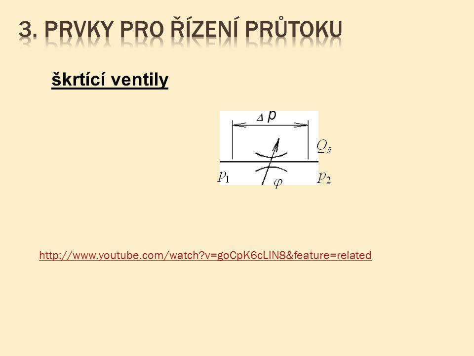 škrtící ventily http://www.youtube.com/watch?v=goCpK6cLlN8&feature=related