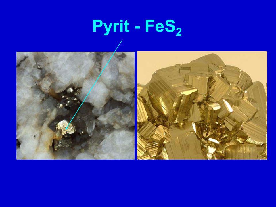 Pyrit - FeS 2