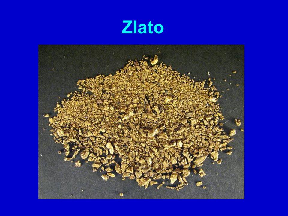 společně se stříbrem se nachází se v křemenných žílách při zvětrávání hornin se druhotně dostává do řek, kde je v podobě zrnek Jak se nazývá způsob získávání zlata z naplavenin?