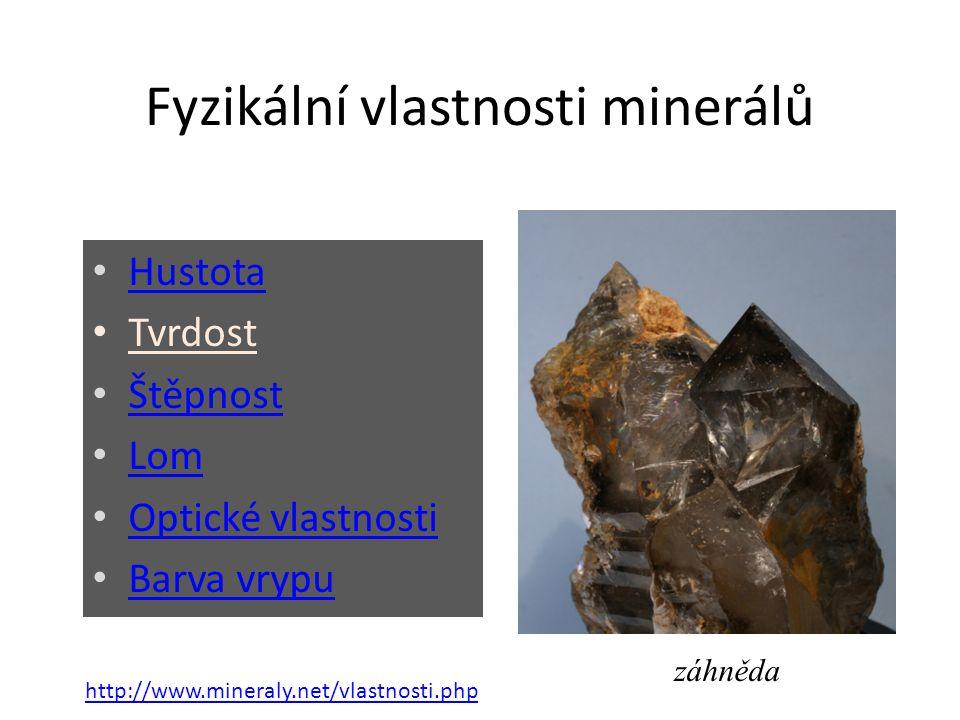 Tvrdost nerostů fyzikální vlastnost nerostů tvrdší minerál zanechá v měkčím minerálu vryp slouží k určování nerostů stupnice tvrdosti [1] Friedrich Mohs (29.