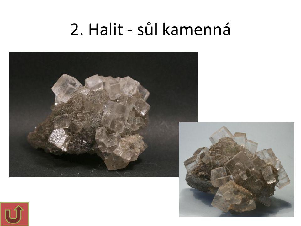 3. Kalcit [2] Dvojlom kalcitu